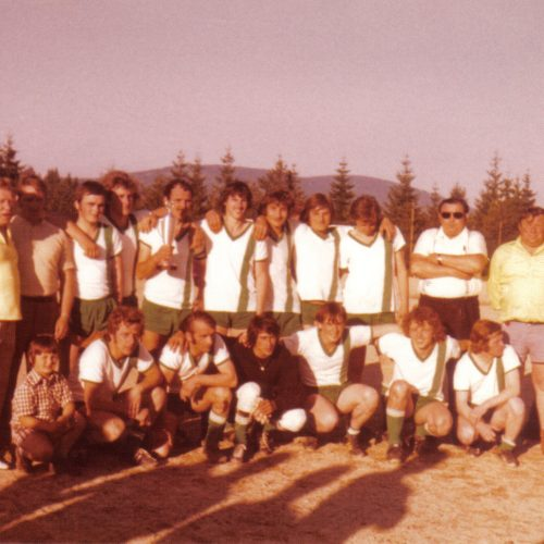 Erster Pokalgewinn 1974